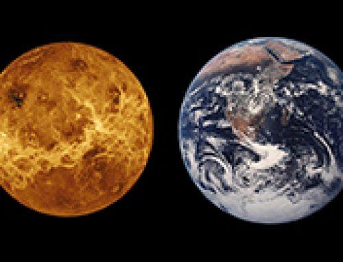 Faszination Weltall – Der Tanz von Erde und Venus